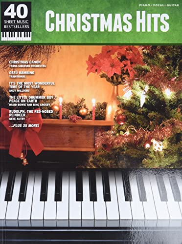 9780739081891: 40 Sheet Music Bestsellers Christmas Hits PVG