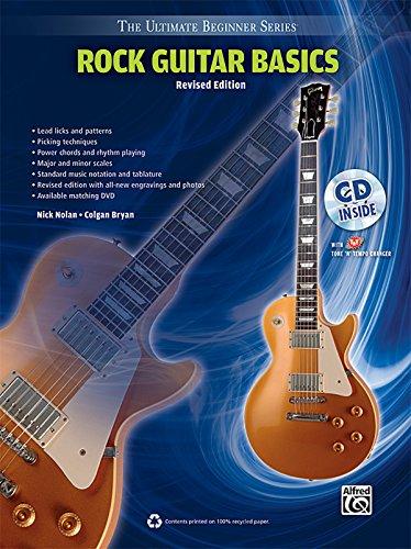 9780739082010: Ultimate Beginner Rock Guitar Basics: Steps One & Two, Book & CD (The Ultimate Beginner Series)