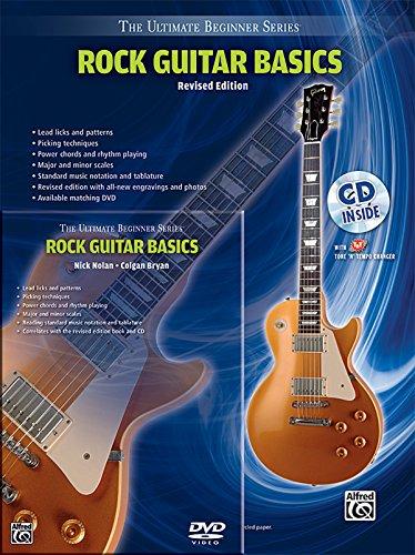 9780739082089: Ultimate Beginner Rock Guitar Basics Mega Pak: Book, CD & DVD (The Ultimate Beginner Series)