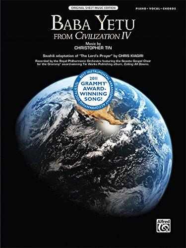9780739082522: Baba Yetu From Civilization IV: Piano/Vocal/Chords: Original Sheet Music Edition