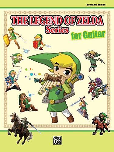 9780739082812: The Legend of Zelda Series for Guitar: Guitar Tab