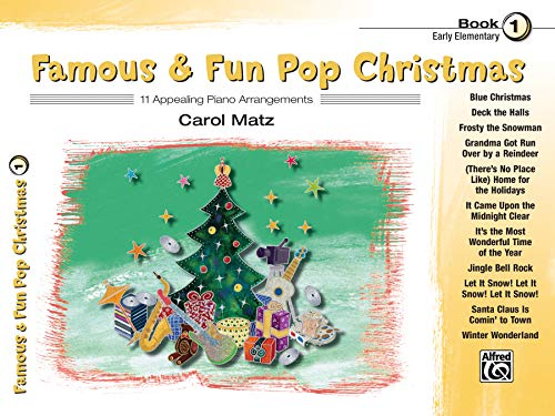 9780739082904: Famous & Fun Pop Christmas: 11 Appealing Piano Arrangements, Early Elementary