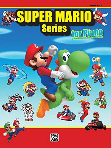 9780739082959: Super Mario Series for Piano: Intermediate-Advanced Edition: Piano Solos
