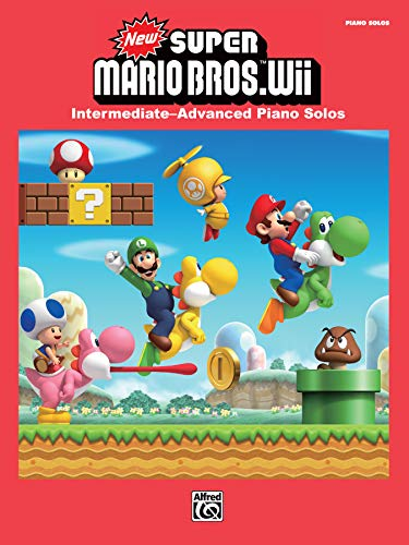 9780739082997: New Super Mario Bros. Wii: Intermediate / Advanced Piano Solos