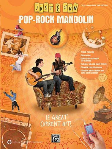 9780739083062: Just For Fun Pop-Rock Mandolin Easy Mandolin Tab Edition 12 Great Current Hits