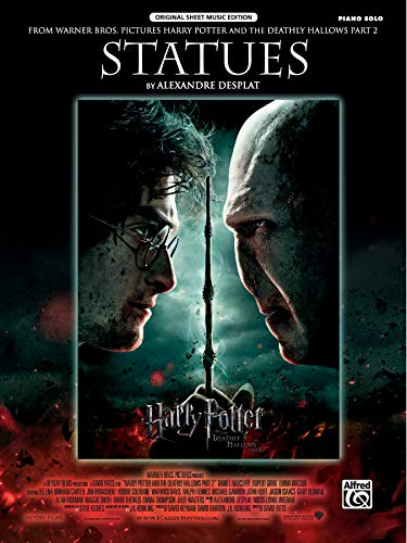 9780739083864: Statues (from Harry Potter and the Deathly Hallows, Part 2): Piano Solo, Sheet (Original Sheet Music Edition)