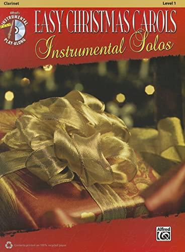 9780739083949: Easy Christmas Carols Instrumental Solos: Clarinet, Book & CD (Easy Instrumental Solos)