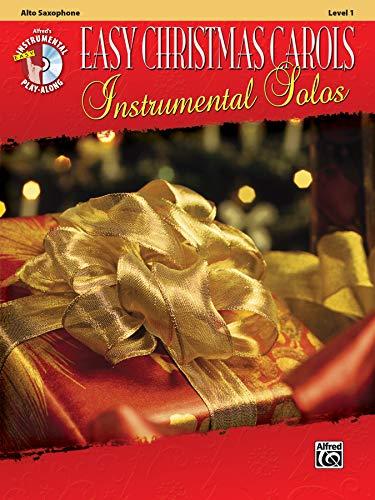 9780739083956: Easy Christmas Carols Instrumental Solos: Alto Sax, Book & CD (Easy Instrumental Solos Series)