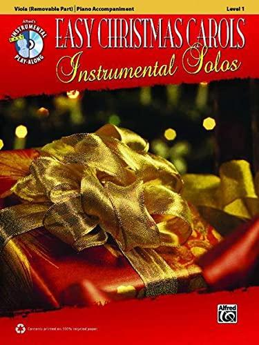 9780739084021: Easy Christmas Carols Instrumental Solos for Strings: Viola, Book & CD (Easy Instrumental Solos Series)