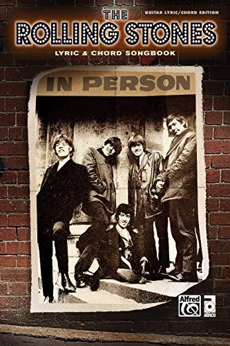 9780739084045: Rolling Stones -- Lyric & Chord Songbook