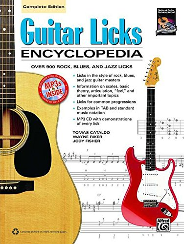 9780739084465: Guitar Licks Encyclopedia: Over 900 Rock, Blues, and Jazz Licks: Complete Edition