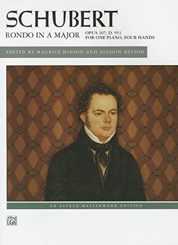 Schubert: Rondo in A Major, Opus 107;