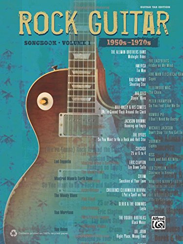 9780739085936: The Rock Guitar Songbook, Volume 1: 1950s-1970s (Guitar Tab Edition)