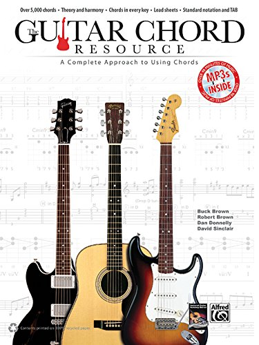 9780739085967: Guitar Chord Resource: A Complete Approach to Using Chords, Book & MP3 CD