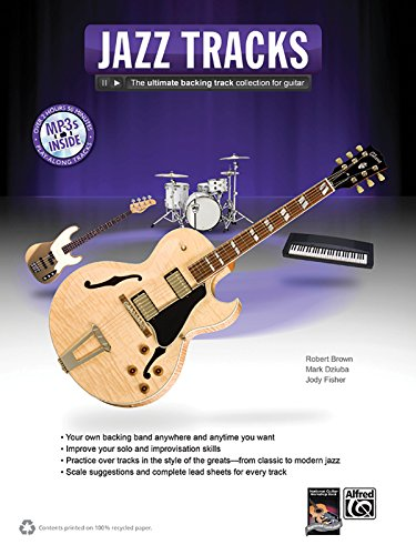 9780739086049: Jazz Guitar Tracks: The Ultimate Backing Track Collection for Guitar, Book & MP3 CD