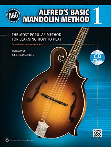9780739086131: Alfred's Basic Mandolin Method 1: The Most Popular Method for Learning How to Play, Book & CD (Alfred's Basic Mandolin Library)