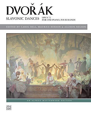 9780739087077: Dvorák -- Slavonic Dances, Op. 72 (Alfred Masterwork Edition)