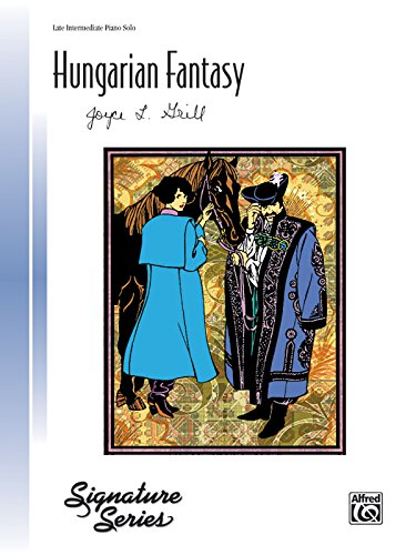 Hungarian Fantasy: Late Intermediate Piano Solo