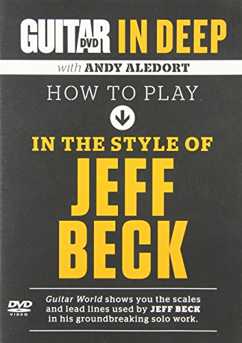 9780739087459: How to Play in the Style of Jeff Beck