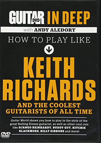 9780739087466: Guitar in Deep: How to Play Like Keith Richards And the Coolest Guitarists of All Time, Dvd