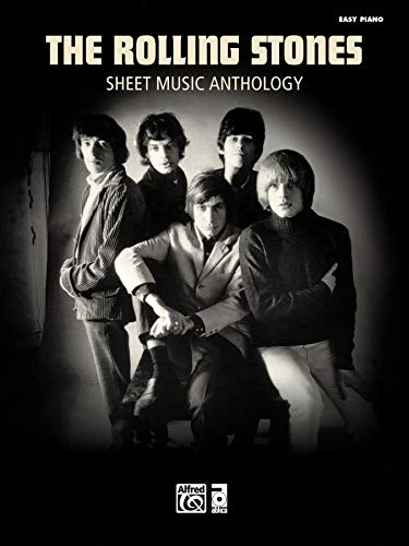 9780739087671: The Rolling Stones Sheet Music Anthology: Easy Piano (Easy Piano Sheet Music)