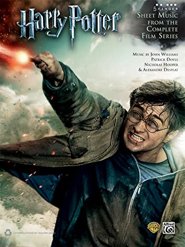 9780739087701: Harry Potter -- Sheet Music from the Complete Film Series: Five Finger Piano