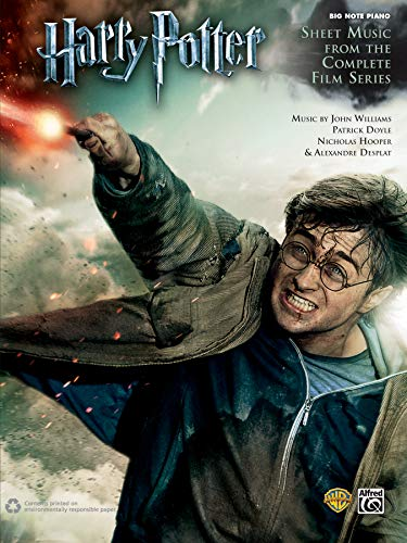 9780739087718: Harry Potter Sheet Music from the Complete Film Series: Big Note Piano