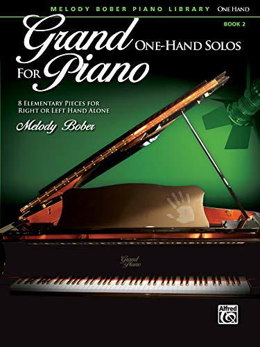 9780739087961: Grand One-Hand Solos for Piano, Bk 2: 8 Elementary Pieces for Right or Left Hand Alone