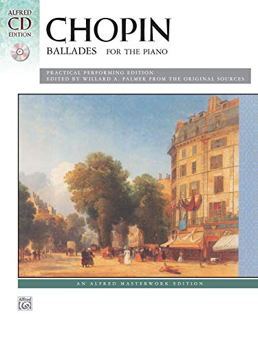 9780739088159: Chopin -- Ballades: Book & CD (Alfred Masterwork CD Edition)