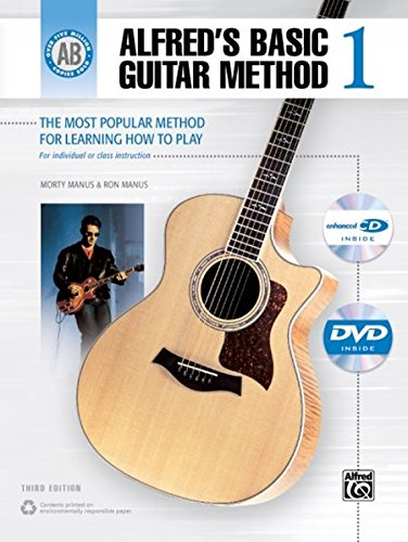 9780739088265: Alfred's Basic Guitar Method, Bk 1: The Most Popular Method for Learning How to Play (Book, DVD & Enhanced CD (Browsable)) (Alfred's Basic Guitar Library)