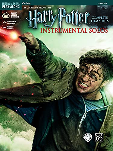 9780739088296: Harry Potter Instrumental Solos: Clarinet, Book & CD (Pop Instrumental Solo Series)