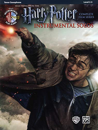 9780739088319: Harry Potter Instrumental Solos: Tenor Sax, Book & CD (Alfred's Instrumental Play-Along)