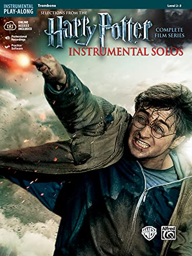 9780739088340: Harry Potter Instrumental Solos: Trombone, Book & CD (Pop Instrumental Solo Series)