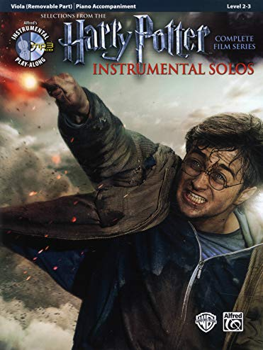 9780739088371: Harry Potter Instrumental Solos for Strings: Viola, Book & CD (Pop Instrumental Solo Series)
