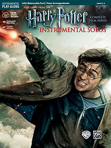 9780739088388: Selections From The Harry Potter Complete Film Series Instrumental Solos: Cello (Removable Part) / Piano Accompaniment: Level 2-3
