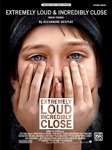 9780739088678: Extremely Loud & Incredibly Close (Main Theme): Piano Solo, Sheet (Original Sheet Music Edition)