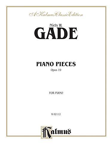 9780739088753: Piano Pieces, Op. 19 (Kalmus Edition)