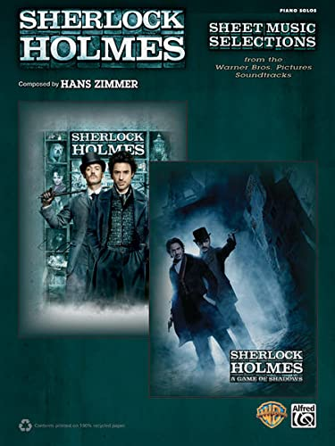 9780739088838: Sherlock Holmes -- Sheet Music Selections from the Warner Bros. Pictures Soundtracks