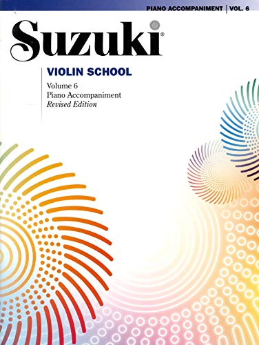9780739088906: Suzuki Violin School, Vol 6: Piano Acc.