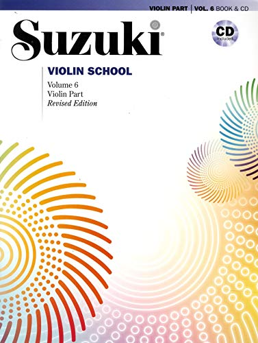 9780739088920: Suzuki Violin School Violin Part & CD, Volume 6