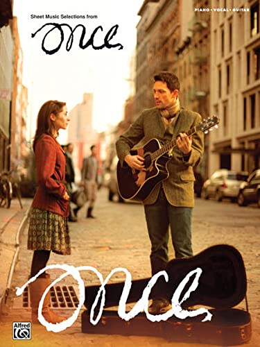 9780739089200: Once - Sheet Music from the Broadway Musical: Piano/Vocal/Guitar