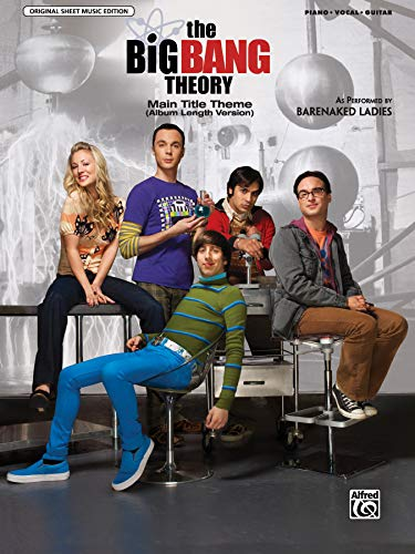 9780739089248: Robertson the Big Bang Theory Main Title Pvg Sheet (Original Sheet Music Edition)