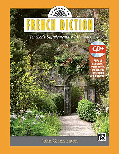 9780739089347: Gateway to French Diction: Teacher's Supplementary Materials, Book & Data CD (Gateway Series) (French Edition)