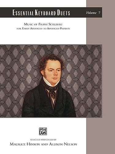 9780739090428: Essential Keyboard Duets, Vol 7: Music of Franz Schubert, Comb Bound Book