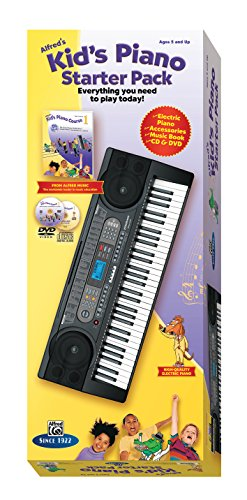 9780739090718: Alfred's Kid's Piano Starter Pack: Everything You Need to Play Today! (Starter Pack) (Kid's Piano Course)