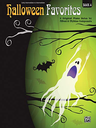 9780739091050: Halloween Favorites, Bk 4: 9 Original Piano Solos by Alfred and Myklas Composers
