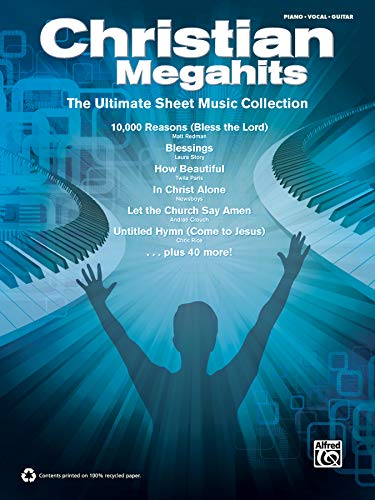 9780739091098: Christian Megahits -- The Ultimate Sheet Music Collection: Piano/Vocal/Guitar