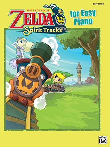 9780739091135: The Legend of Zelda Spirit Tracks for Easy Piano: Easy Piano Solos