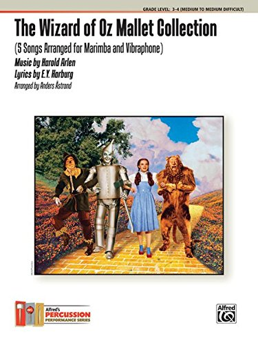 9780739091487: The Wizard of Oz Mallet Collection: 5 Songs Arranged for Marimba and Vibraphone (Percussion Performance)