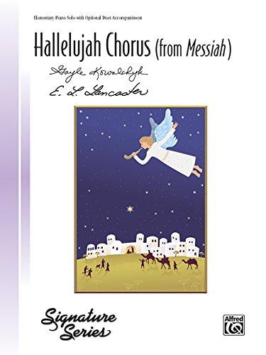 9780739091494: Hallelujah Chorus (from Messiah): From Messiah, Sheet (Signature)